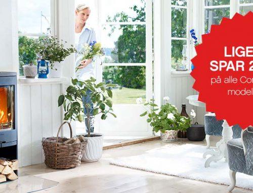 Forårskampagne – Brændeovne til ethvert hjem
