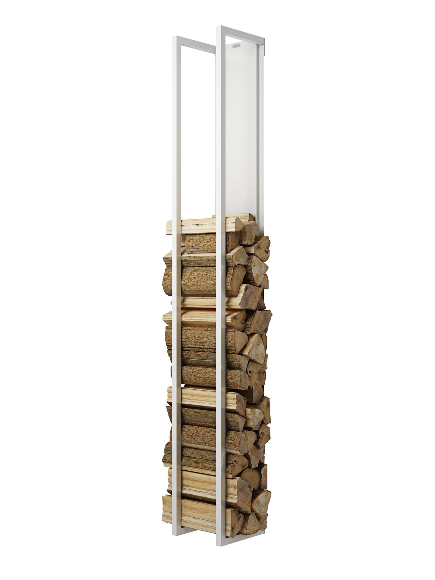 Rais-tilbehoer-Woodwall høj hvid