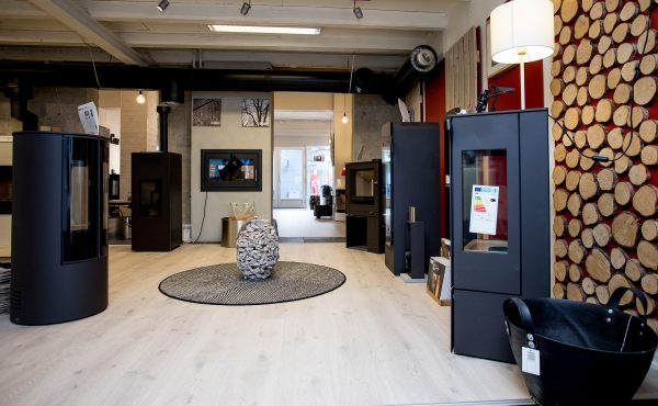 Thisted Pejsecenter showroom
