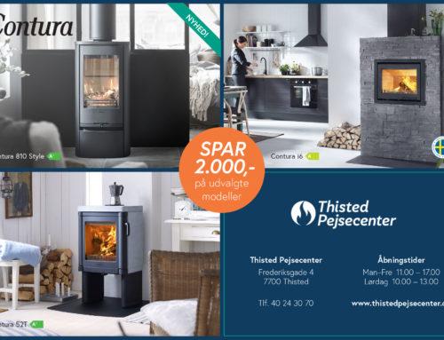 Spar 2000 kr på udvalgte Contura modeller