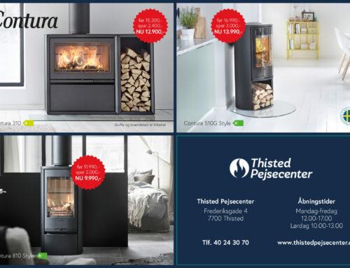 Spar penge på Contura brændeovne