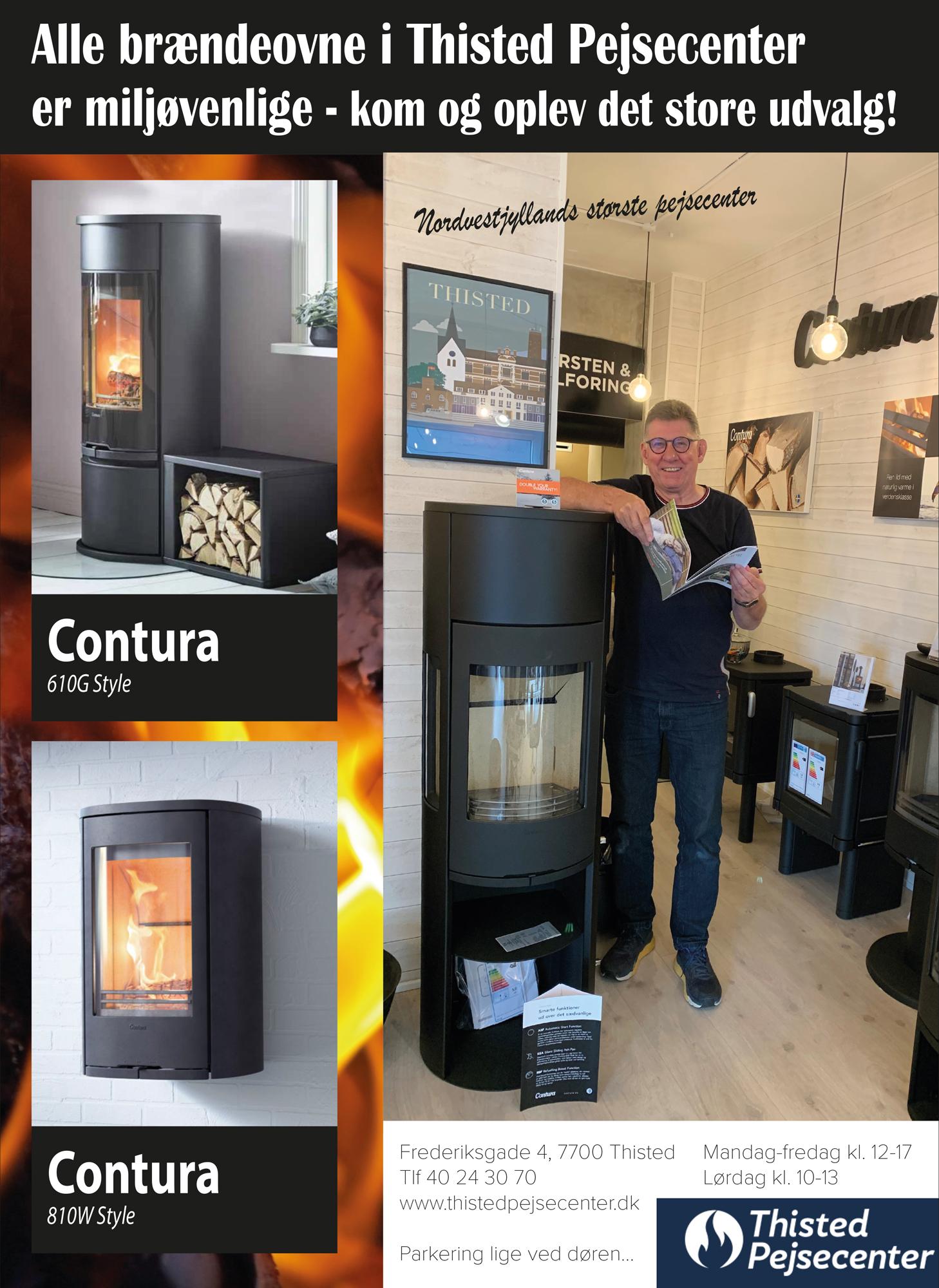 Thisted Pejsecenter - nye brændeovne